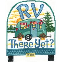 RV There Yet? Counted Cross Stitch Kit NOTM344751
