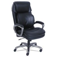 SertaPedic Cosset Big and Tall Executive Chair, Black SRJ48964