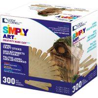 Simply Art Jumbo Craft Sticks NOTM428087