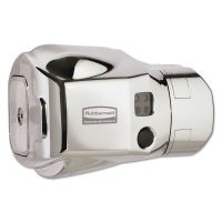 Rubbermaid Commercial Auto Flush Clamp-On Toilet Flushing System, Polished Chrome RCP401805A