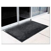 Crown Crown-Tred Indoor/Outdoor Scraper Mat, Rubber, 35 1/2 x 59 1/2, Black CWNTD0035BK