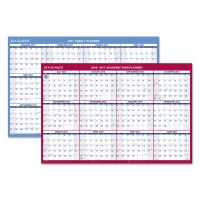 AT-A-GLANCE Reversible Laminated Academic Yearly Wall Calendar AAGPM200S28
