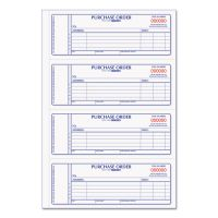 Rediform Purchase Order Book, 7 x 2 3/4, Two-Part Carbonless, 400 Sets/Book RED1L176