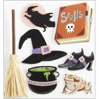 Jolee's Halloween Stickers NOTM486827