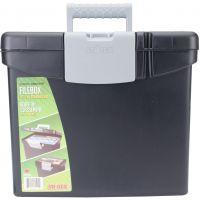 """Portable File Box 10.875""""X13.25""""X11"""" NOTM021588"""