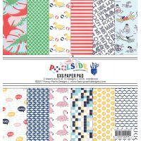"""Fancy Pants Designs Single-Sided Paper Pad 6""""X6"""" 24/Pkg NOTM392143"""