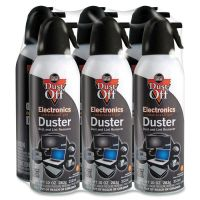 Dust-Off Canned Air Compressed Gas Electronics Duster FALDPSXL6