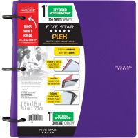 "Five Star FiveStar Flex Hybrid 1"" NoteBinder MEA72514"