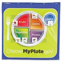 Healthy Helpings MyPlate Pocket Chart LRNLER2394