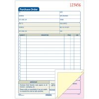 Adams 3-Part Carbonless Purchase Order Forms ABFTC5831
