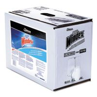 Windex Powerized Formula Glass/Surface Cleaner, 5gal Bag-in-Box Dispenser SJN696502