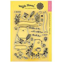 "Waffle Flower Crafts Clear Stamp 5""X7"" NOTM466550"