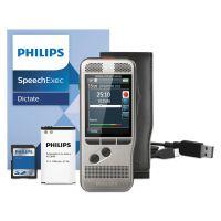 Philips Pocket Memo 7000 Digital Recorder, Slide, 2GB, Silver PSPDPM700001