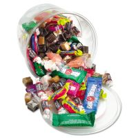 Office Snax Soft & Chewy Mix, Assorted Soft Candy, 2 lb Resealable Plastic Tub OFX00013