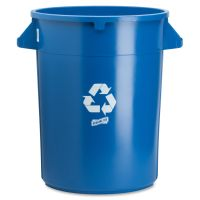 Genuine Joe Heavy-Duty 32 Gallon Trash Can  GJO60464