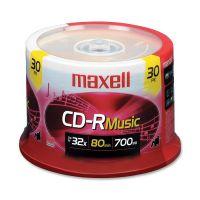 Maxell Recordable CD Media   MAX625335
