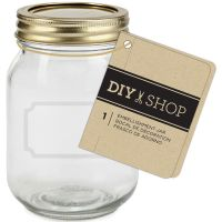 Diy Shop 4 Mini Mason Jar NOTM425098
