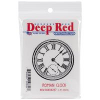 """Deep Red Cling Stamp 2""""X2"""" NOTM261723"""