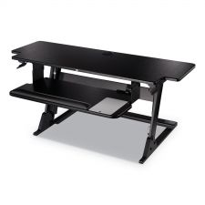 3M Precision Standing Desk, 42w x 23.2d x 20h, Black