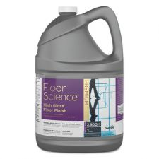 Diversey Floor Science Premium High Gloss Floor Finish, Clear Scent, 1 gal Container,4/CT