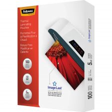 Fellowes ImageLast Laminating Pouches with UV Protection, 5mil, 11 1/2 x 9, 100/Pack
