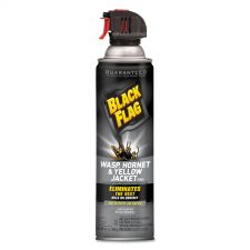 Diversey Black Flag Wasp, Hornet and Yellow Jacket Killer, 14 oz Aerosol, 12/Carton