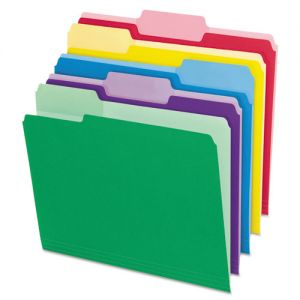 Pendaflex Colored Interior File Folders