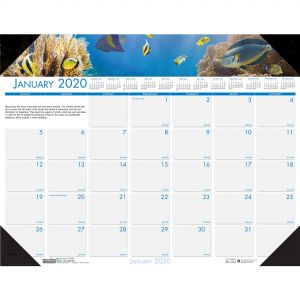 calendar desk pads book