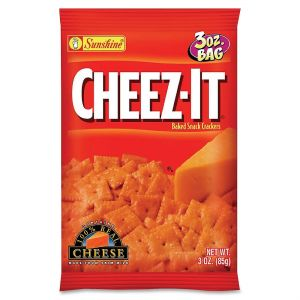Cheez-It Baked Snack Crackers, 6 x 3 oz Packages