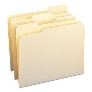 Smead Manila File Folders, 1/3-Cut Tabs, Letter Size, 100/Box SMD10330