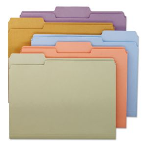 Top Tab Colored Folders