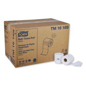 Tork Universal Bath Tissue, 2-Ply, White, 500 Sheets/Roll, 96 Rolls/Carton TRKTM1616S