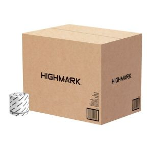 Highmark 2-Ply Toilet Paper, 100% Recycled, 550 Sheets Per Roll, Pack Of 80 Rolls ODFN693870
