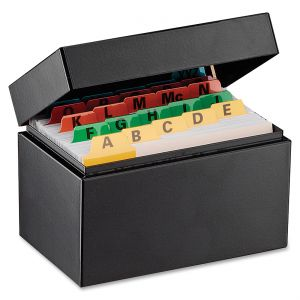 Shop for Index Card Files & Cabinets, Card Storage ...
