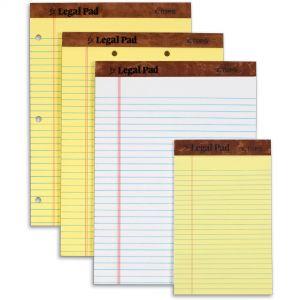 Letter, Legal, & Jr. Pads