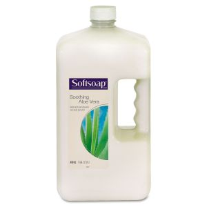 Softsoap Liquid Hand Soap Refill with Aloe, 1 gal Refill Bottle CPC01900EA