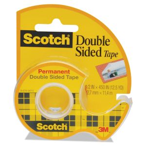 scotch permanent double sided tape mmm137. Black Bedroom Furniture Sets. Home Design Ideas