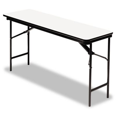 ICE55287 - Iceberg Premium Wood Laminate Rectangular Folding Table