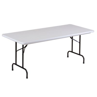 CRLRX309623 - Correll Blow-Molded Tamper Resistant Folding Table