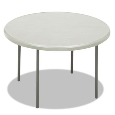 ICE65243 - Iceberg IndestrucTable Too 1200 Series Round Folding Table