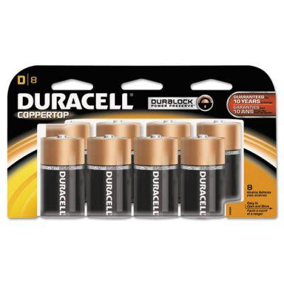 DURMN13RT8Z - Duracell Coppertop D Batteries