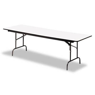 ICE55217 - Iceberg Premium Wood Laminate Rectangular Folding Table