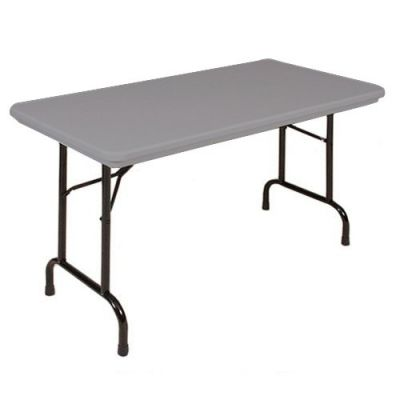 CRLRX244823 - Correll Blow-Molded Tamper Resistant Folding Table