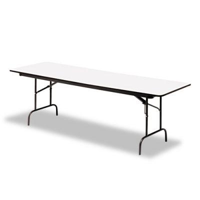 ICE55227 - Iceberg Premium Wood Laminate Rectangular Folding Table