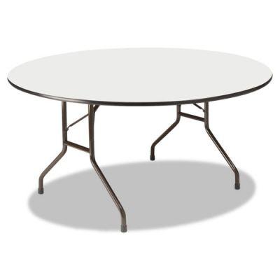 ICE55267 - Iceberg Wood Laminate Round Folding Table