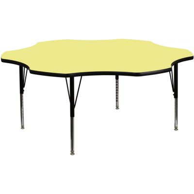 FHFXUA60FLRYELTPGG - Flash Furniture preschool activity table