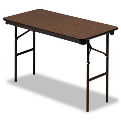 ICE55304 - Iceberg Economy Wood Laminate Rectangular Folding Table