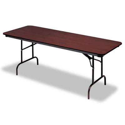ICE55224 - Iceberg Premium Wood Laminate Rectangular Folding Table