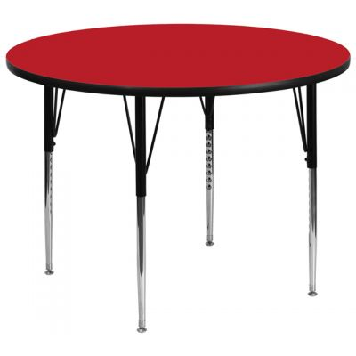 FHFXUA42RNDREDHAGG - Flash Furniture 42'' round activity table