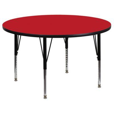 FHFXUA42RNDREDHPGG - Flash Furniture Red preschool activity table